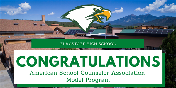 Congratulations.  American School Counseling Association Model Program.