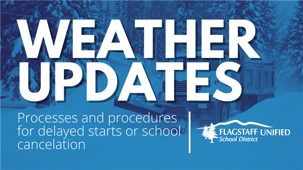Weather Update - Processes and Procedures During Inclement Weather Events