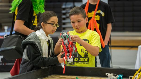Coconino High School CocoNuts Host the 12th Annual Flagstaff First Lego League Tournament