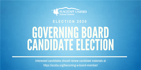 Governing Board Candidate Election 2020