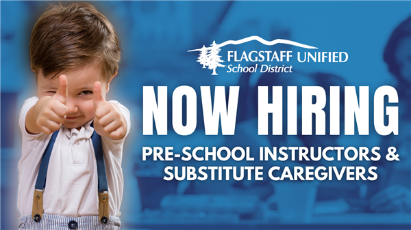Now Hiring Pre-School Instructors and Substitute Caregivers