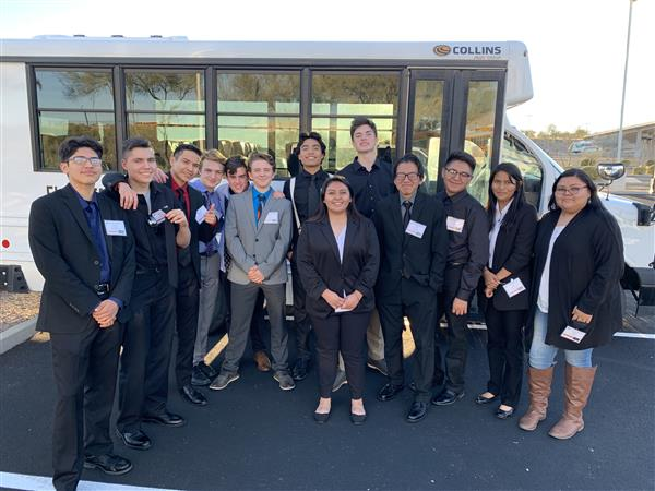 FHS Student Places at FBLA Region 4 Conference