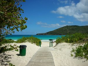 If you can guess the name of this famous beach in Puerto Rico you will earn yourself 10 extra credit points!!