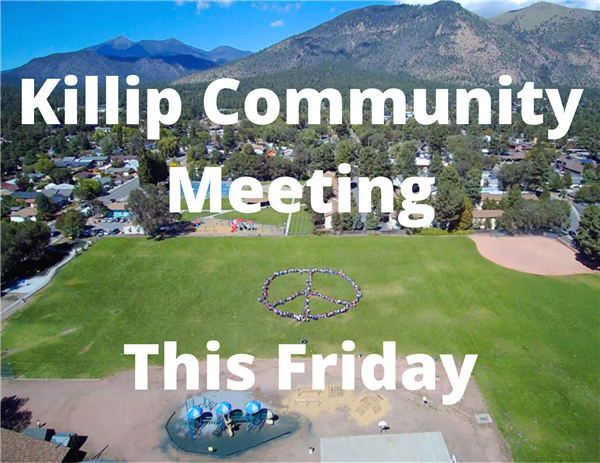Killip Community Meeting This Friday