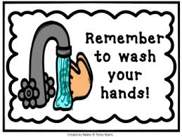 Keep safe and practice washing your hands.