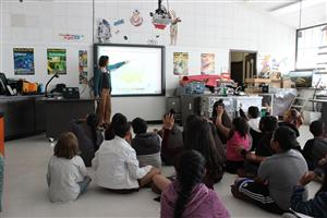 Students learn about droughts.