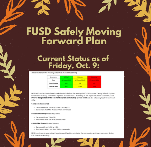 FUSD Safely Moving Forward Plan