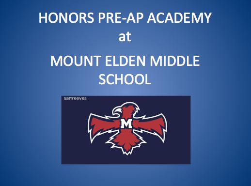 Honor Pre-AP Academy