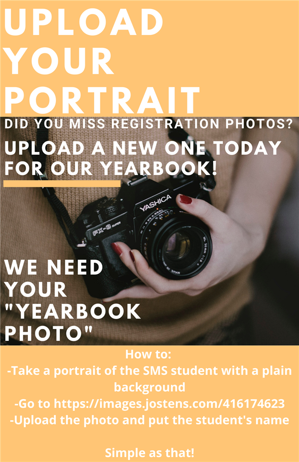 Click Here to Upload Your Yearbook Photo