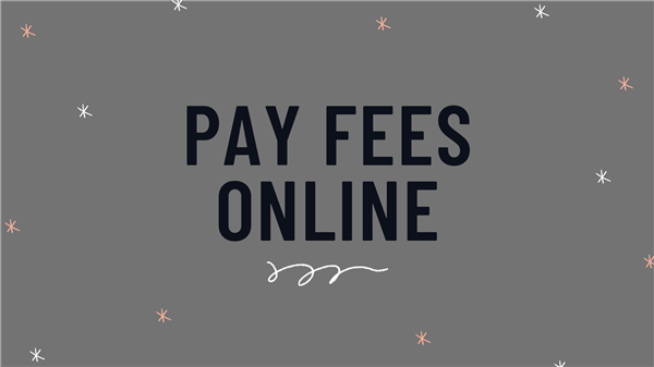 Pay Fees Online