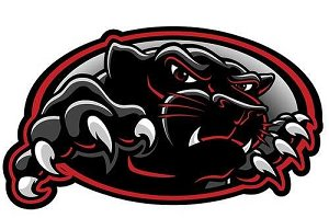 Image of the Coconino High School panther logo