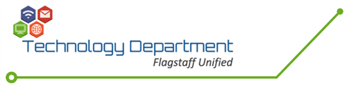 FUSD Technology Dept. Logo