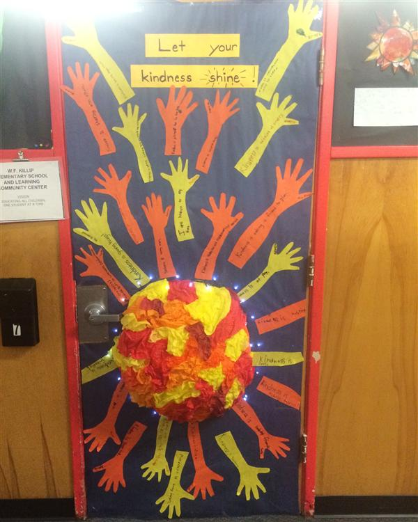 Classroom Decoration Ideas Forums ~ Door decorations about kindness pictures to pin on