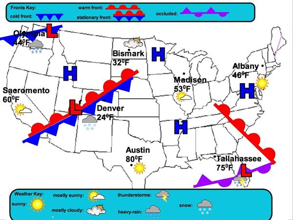 B Brothers Weather Maps