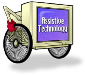 Assistive Technology; computer on wheels